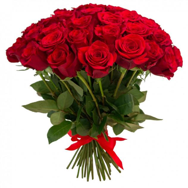 Букет из 55 роз № 3