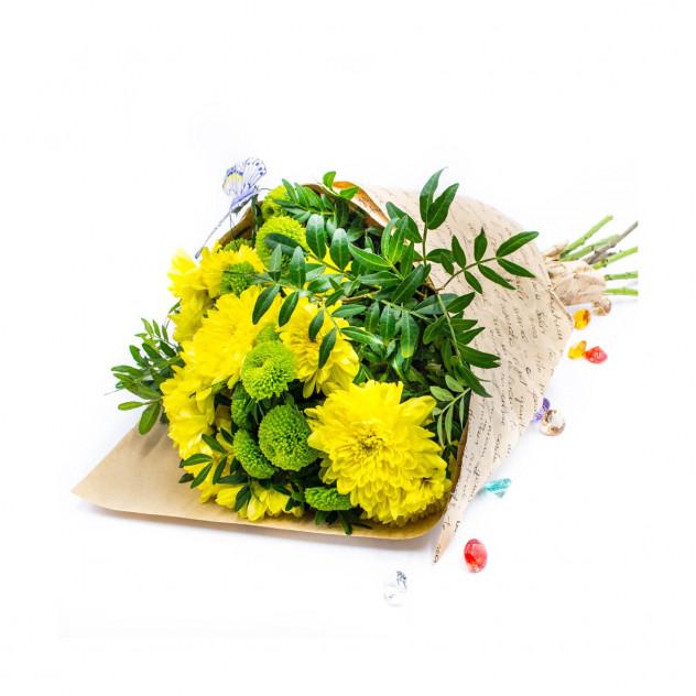 Букет из 7 хризантем № 2